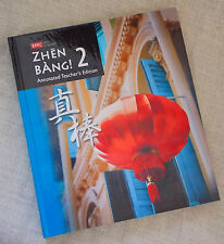 Zhen Bang 2 Annotated Teachers Edition Chinese Language Wong Fang 9780821988244