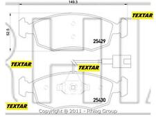 PASTIGLIE FRENO TEXTAR FIAT PUNTO 0.9 62 KW DA 04/2012 MOT 312A2000