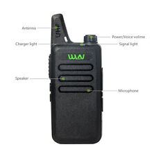Newest MINI-handheld walkie talkie WLN UHF 400-470 MHz  2-way Amature Ham Radio