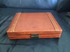 Boite A Cigares Dunhil En Cuir Travel, Leather