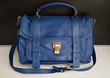 Authentic Proenza Schouler PS1 Bag Handbag Crossbody Royal Blue Mint Condition