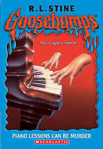 Piano Lessons Can Be Murder (Goosebumps), Stine, R L, Used; Good Book
