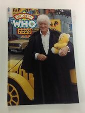 """1995 """"Dr. Who"""" Yearbook H/C Science Fiction Bbc Tv Show"""