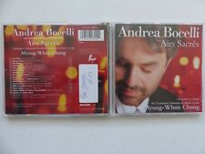 ANDREA BOCELLI Airs sacrés MYUNG WHUN CHUNG 462600 2  CD ALBUM