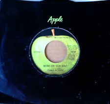CHRIS HODGE - WE'RE ON OUR WAY b/w SUPERSOUL - APPLE 45 - 1972
