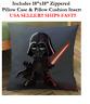 "18x18 18"" STAR WARS DARTH VADER Anakin Skywalker Zippered Throw Pillow Cushion"