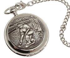 Pocket watch Bowling design skeleton mechanism
