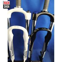 """RockShox Suspension Fork 26"""" Remote/Crown Preload Rebound Adjust MTB Bike Forks"""