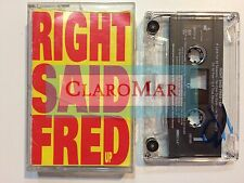 ���️ UP Right Said Fred Cassette Tape I'm Too Sexy Hit USA 1992 Charisma Records