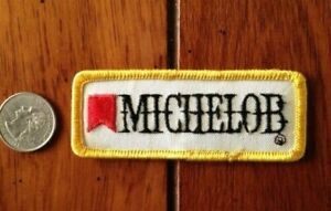 """Michelob Beer 3.5"""" Stitched Shirt Jacket PATCH"""