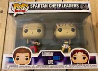 Saturday Night Live Spartan Cheerleaders 2-pack Pop! SNL Vinyl Figures
