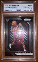 2018 Panini Prizm #170 Collin Sexton RC Rookie PSA 8.5 NM-MT+