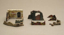 Wwii Walls And Ruins Set 2 Diorama Plastic Kit 1:72 Model 6090 ITALERI