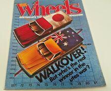 Aug 1981 WHEELS Magazine WB UTE Brock Commodore ALFA Piazza Toyota T-18 Soarer