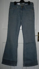 Women's Tall Stonewashed Flared, Kick Flare Jeans