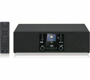 JVC RD-D100 40W HIFI STEREO SYSTEM DAB+ RADIO CD PLAYER WIRELESS BLUETOOTH USB
