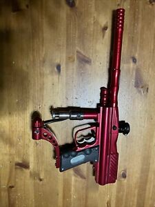 WDP Angel Lcd Paintball Marker Red Gun