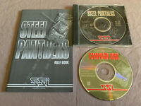 Steel Panthers PC Computer SSI Video Game+Manual & RARE Campaign Disk Expansion!