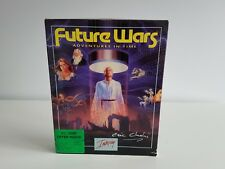 PC Future Wars Big Box /Delphine Software/ Signed by Eric Chahi