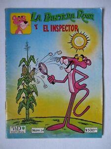 PANTERA ROSA comic VID mexico PINK PANTHER BIG NOSE little man CORN MAIZ popcorn