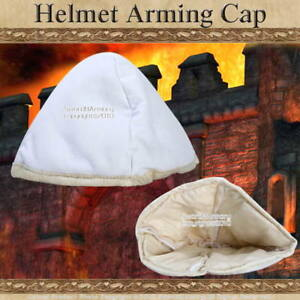 Cloth Medieval Helmet Arming Cap Paddded Cusion Helm SCA LARP