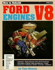 How to Rebuild Ford V8 Engines Book~351C 351M 400 429 460 ~560 Illustrations~NEW