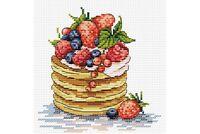 Cross Stitch Kit Breakfast time M-088