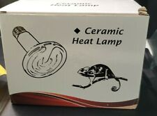 New listing Infrared Ceramic Reptiles Heating Lamp 2-Pk Bulb Lizard Snake Light E26