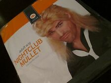 Adult NIGHTCLUB MULLET Blonde WIG NEW Costume FUNNY Disco Cool OS