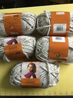 Lion Brand Hometown USA Yarn Bulky6 Acrylic/Rayon 94/6%4oz 64yd Aspen tweed