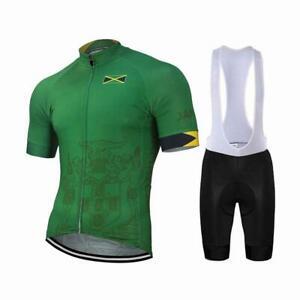 Team Jamaica Men's Cycling Jersey & Bib Short Set