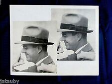 Large Vintage PHOTO MAN actor STETSON HAT Photography Art School Los Angeles CA