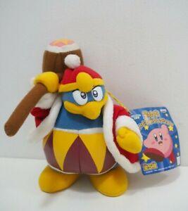 "Rare Kirby Dream Land King Dedede Banpresto 2002 Plush 7"" TAG Toy Doll Japan"
