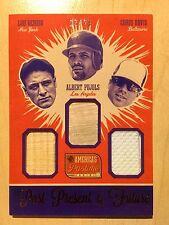 LOU GEHRIG/Albert Pujols/Chris Davis 2013 America's Pastime /25 Bat Jersey
