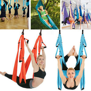 Aerial Yoga Swing Yoga Hammock Trapeze Antigravity Ceiling Hanging Yoga Sling
