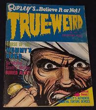 1966 - RIPLEY'S - BELIEVE IT OR NOT ! - TRUE WEIRD - Vol.1 No.1 - MAGAZINE
