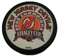 2000 STANLEY CUP CHAMPIONS NEW JERSEY DEVILS NHL PUCK BY PUCK WORLD 🌎 🇨🇿