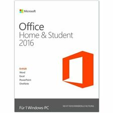 Microsoft Office Home und Student 2016 1PC, Download