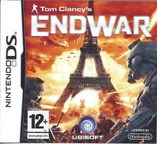 TOM CLANCY'S ENDWAR for Nintendo DS - with box & manual