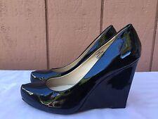Halogen Shoes Women's Black Pointy Toe High Heels Wegde US Sz 5.5 M