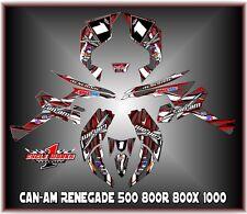 Can-Am Renegade 500 800r 800x 800xc1000  SEMI CUSTOM GRAPHICS KIT race2