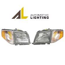 NEW Mercedes R129 SL320 SL500 SL600 Pair Set of Two Halogen Headlights OEM