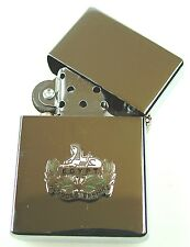 GLOUCESTERSHIRE REGIMENT  WINDPROOF CHROME PLATED LIGHTER SM