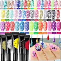 Born Pretty 5/8ml Stamping UV Gel Nail Polish Stamp Plates Tool Gel Varnish DIY
