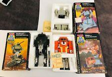 VINTAGE TONKA SUPER GOBOTS LOT of 3 DESTROYER STAKS LEADER- 1 in boxes 1980's