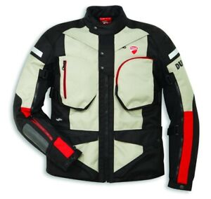 Ducati Spidi Atacama C1 Enduro Textile Jacket Tex Jacket Black Sand New