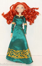 "Merida Brave Classic Princess Doll Disney Store 12"" Like New Condition"