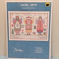 Angel Gifts Vintage Counted Cross Stitch 1 Pattern