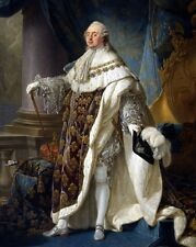 New 8x10 Photo: Louis XVI, King of France and Navarre in Grand Royal Costume