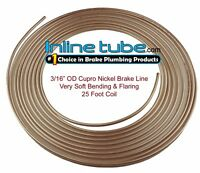 "3x 25ft Fuel Brake Malleable Copper Petrol Pipe Tube 3//16"" OD x 0.131"" ID Car"
